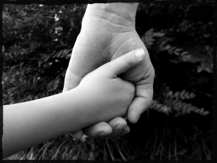 5. A father's hand