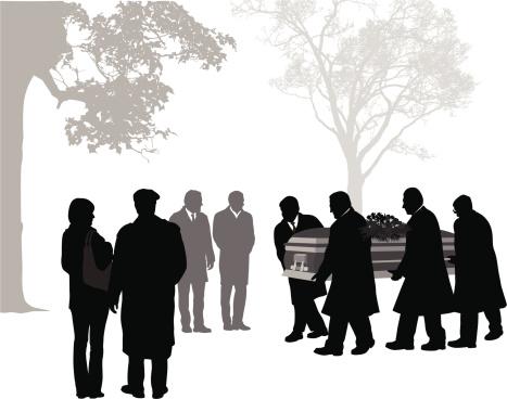 6. Men with casket
