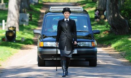 7. female undertaker