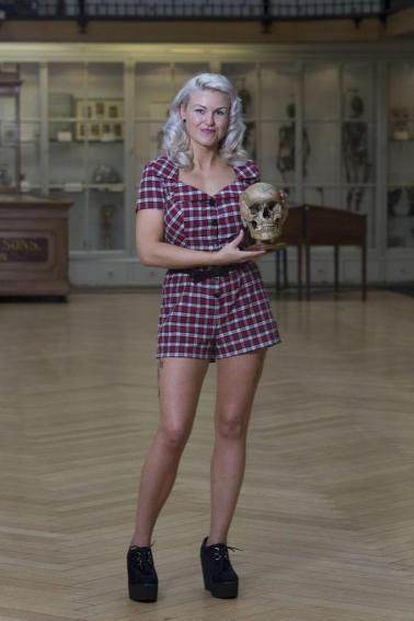 Carla at her Museum