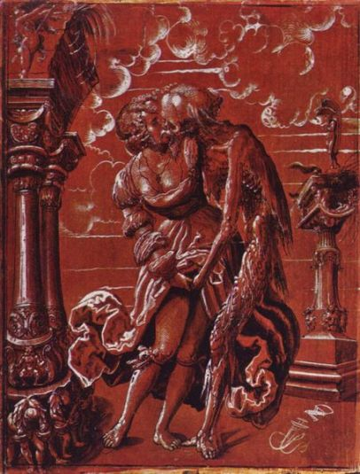 Fig. 3. Niklaus Manuel (Deutsch). 1517. Death and the Maiden.