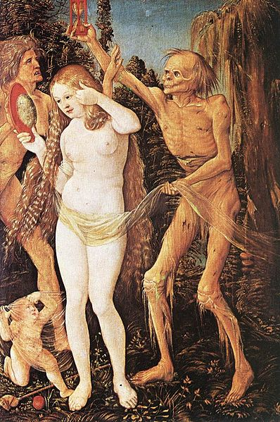 Fig. 6. Hans Balding Grien. 1509-10. The Three Ages and Death.