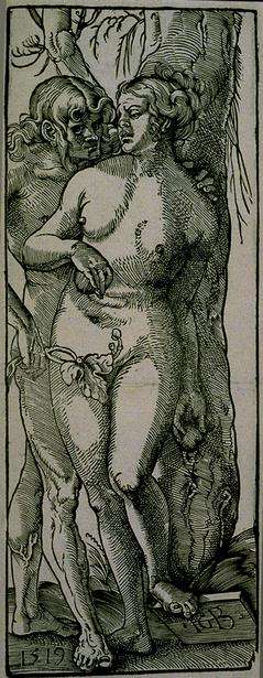 Fig. 7. Hans Balding Grien. 1519. Adam and Eve (Fall of Man).