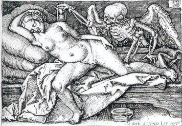 Fig. 9. Hans Sebald Beham. 1548. The Hour is Over.