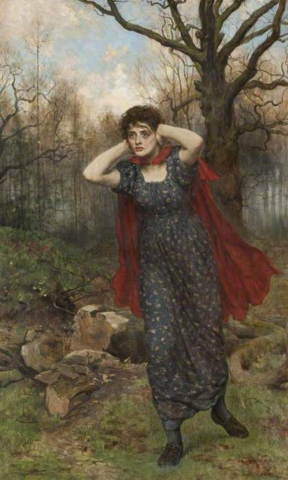 Hetty Sorrel by John Collier [1850-1934]