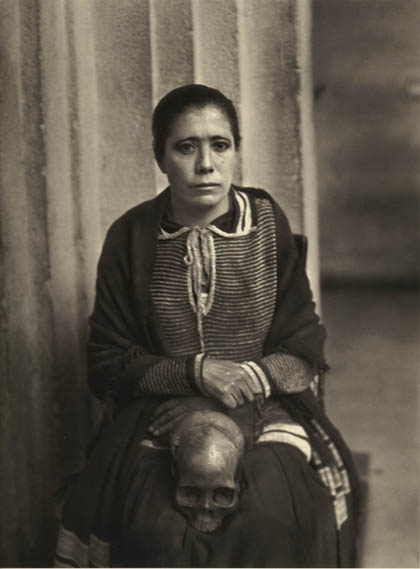 Agustin Victor Casaola, woman accused of witchcraft. Mexico City, ca. 1935