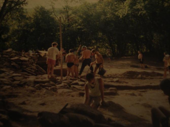 Dolmen Excavation, Russia