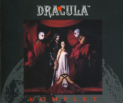 Dracula, album cover Czech version