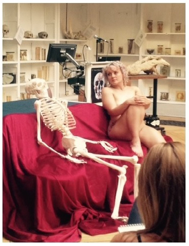 Art Macabre's 'Death & the Maiden' event with Dead Meet at Barts Pathology Museum.
