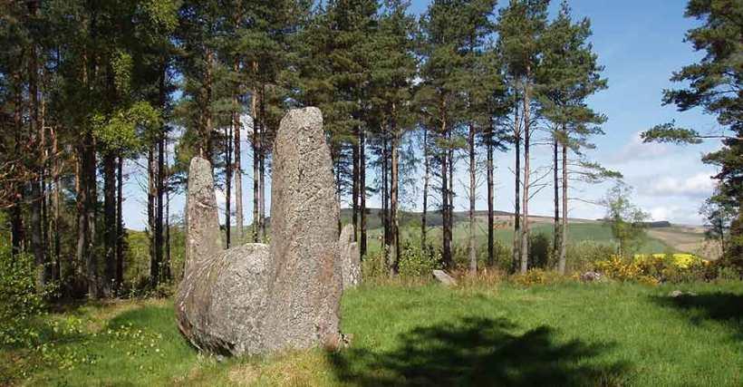 Cothiemuir Hill, Aberdeenshire