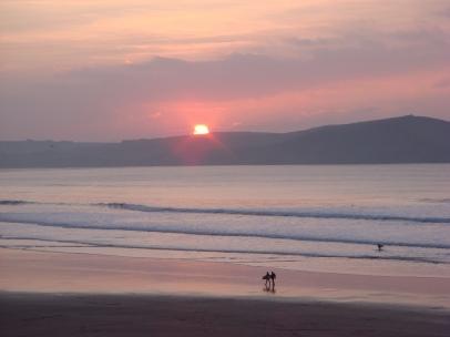 surfer sunrise